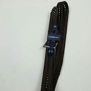 Croft Barrow hand crafted imitation leather sz 38